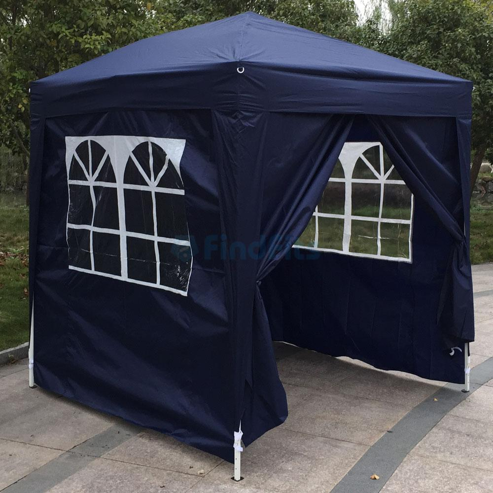 Fully Waterproof Gazebo Party Wedding Tent Four Side 2x2m