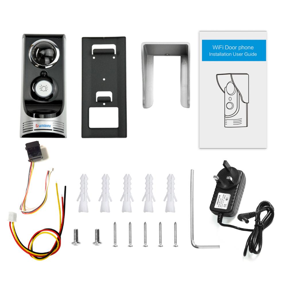 Smart Wireless Ring Doorbell Wifi Visual Camera Phone