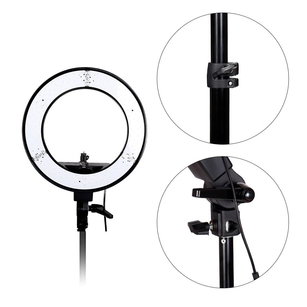 Ring Light Stand Ebay: Studio Lighting LED Ring Light + 2M Adjustable Stand For